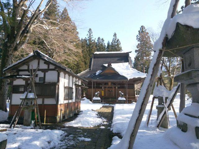 越後湯沢の両山神社