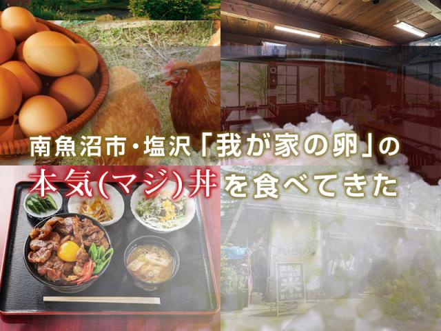 南魚沼市・塩沢 「我が家の卵」の本気(マジ)丼を食べてきた