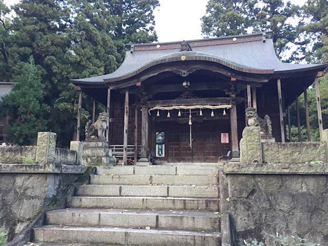 越後湯沢の諏訪神社