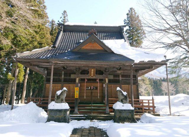 越後湯沢土樽の両山神社