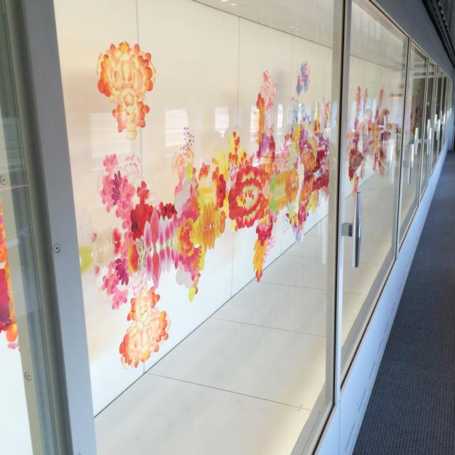 現美新幹線 15号車 荒神 明香さんによる立体作品