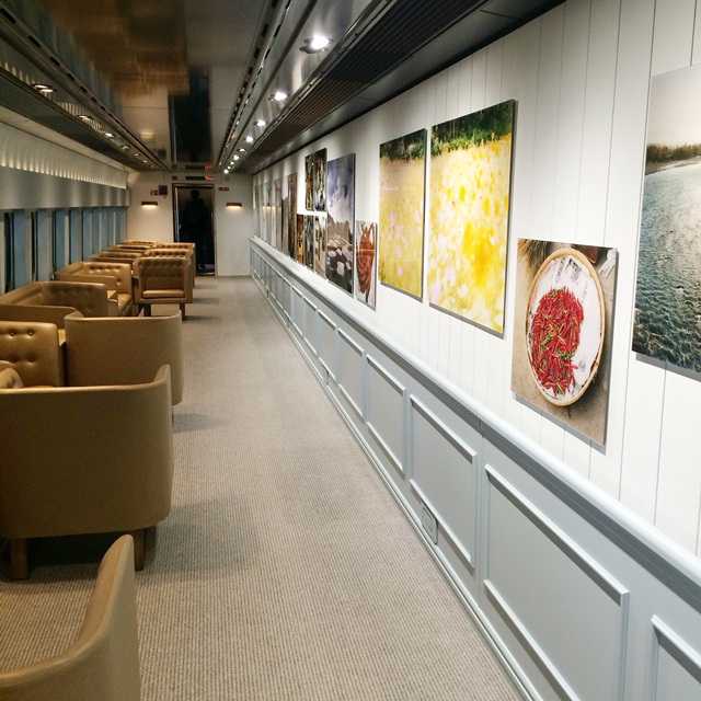 現美新幹線 14号車 石川直樹