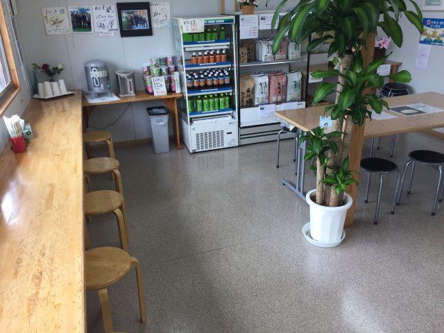 南魚沼市・塩沢 うおぬま倉友農園 休憩スペース
